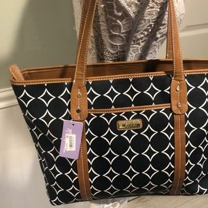 Marc Fisher Dottie Collection Large Tote Bag- BNWT